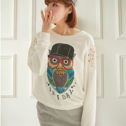 Womens Owl Sweatshirt Online | Womens Owl Sweatshirt for Sale