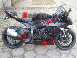 $enCountryForm.capitalKeyWord UK - All Black Injection molding custom painted fairing Kawasaki Ninja ZX6R 13-15 01