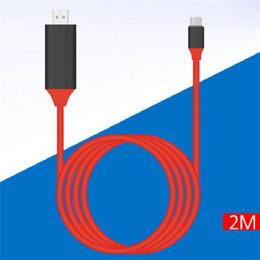 Hdmi Adapter For Cable Box NZ - DisplayPort to HDMI Cable 2M 2160P Male to Female DP to HDMI Adapter for HDTVs Projectors Displays hdmi connectors 5pcs lot