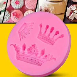 $enCountryForm.capitalKeyWord NZ - Silicone 3D Crown Fondant Silicone Sugar Craft Molds DIY Cake Decorating Tools