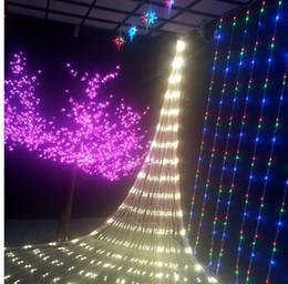 $enCountryForm.capitalKeyWord Australia - US Stock! 6W LED Net lights Meshwork String Christmas lights Lighting 1.5mx1.5m 3mx2m Lamp for Decoration Party Xma Chirstmas light 110v