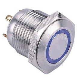 $enCountryForm.capitalKeyWord Canada - ELEWIND 16mm Ring illuminated momentary push button switch (PM161F-10E J B 2.8V S)