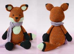 Woolen Toys Canada - Cute Doll DIY CROCHET TOY Little Vixen Sofie children's gifts customize