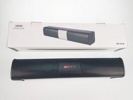 Mini Speaker Dock Canada - BT-818 Ecity Bluetooth Speakers Bluetooth Subwoofer Speaker Wireless Bluetooth Mini Speaker Subwoofer Stereo Portable Speakers Free Shipping