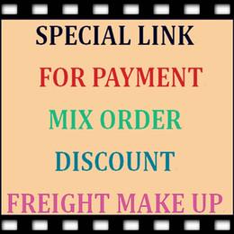 Enlace especial para pago, pedidos mixtos, descuento especial, maquillaje de flete o para usted compra el producto según lo acordado en venta