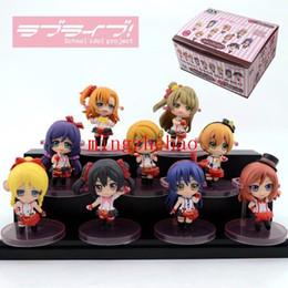 Japanese Love Toys UK - Free shipping Japanese Anim Set  9 X Love Live Kousaka Honoka   Minami Kotori   Sonoda   Ayase Eli Um 6cm Figure Toy Set