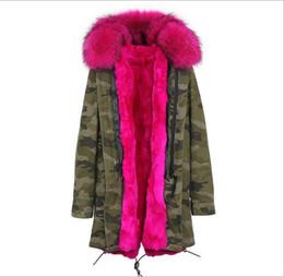 $enCountryForm.capitalKeyWord UK - Outdoor rose fur trim Jazzevar brand rabbit fur lined Camouflage shell long parkas snow winter jackets women coats
