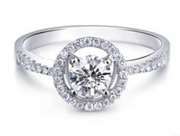$enCountryForm.capitalKeyWord UK - 2 1 2 Ct H SI1 Classic Lad Diamond Engagement Ring Enhanced Round 18K White Gold Filled