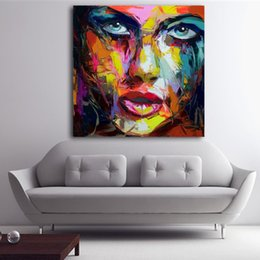 Art Canvas Prints Australia - 1 Pcs Francoise Nielly Jordon Print Oil Painting Canvas Pictures For Living Room Wall Poster And Prints Modern Art No Framed