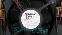 double fan 12v 2018 - Original brand new NIDEC 12038 D12E-12PG 16 12V 0.70A double ball bearing fan cheap double fan 12v