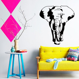 $enCountryForm.capitalKeyWord Canada - horse wall stickers cheap home decoration Vinyl Thailand elephant Wall Sticker removable house decor cool animal decals in family rooms
