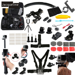 Wholesale Freeshipping Accessories Kit Three Way Mount Holder For GoPro hero Xiaomi yi SJCAM SJ6000 SOOCO EKEN H9R Camera