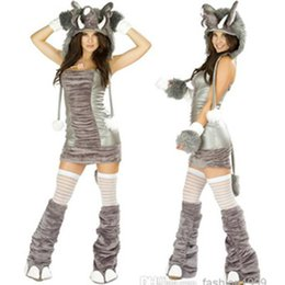 Costumes De Sexe Halloween Pas Cher-New Animal Elephant Cosplay Role Play Stage Performances Marque Costumes de mode HotSexy Femmes Halloween Sex Set Shows Femmes