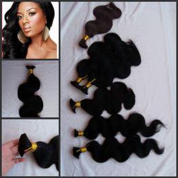 Virign Indian Hair Canada - G-EASY bulk hair for lady,brading hair no weft,no short hair,full end virign human hair bulk