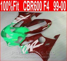 Honda Custom Parts Australia - Perfect Green brown Body parts Injection molding for Honda custom fairings CBR 600 F4 1999 2000 fairing kit CBR600 F4 99 00 ESAQ