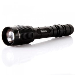 $enCountryForm.capitalKeyWord NZ - Portable Waterproof CREE T6 LED Flash Lights 2 18650 Batteries Aluminum Alloy SOS Outdoor Fishing Flashlights LED Lamps SL-LF-1238