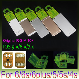 Used iphone sprint online shopping - R SIM R SIM plus RSIM Rsim10 Unlock Card for iphone s S S ios9 X G G CDMA Sprint AU Softbank s direct use no Rpatch
