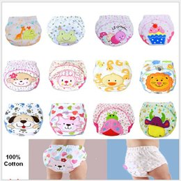 $enCountryForm.capitalKeyWord Canada - Cute Animal Patterns Baby Kids Learning Shorts Training Pants Cartoon Waterproof pure Cotton Diapers Nappy Toddler Underwear Wholesale 50pcs