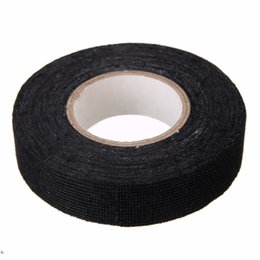 1pc wiring harness tape strong adhesive cloth fabric cloth tape online fabric cloth adhesive tape for sale non adhesive wire harness wrapping tape at soozxer.org