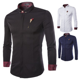 Mens Collarless Shirts Online | Mens Collarless Shirts for Sale