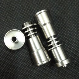 Titanium Domeless Nail 16mm Canada - Factory Direct Sales Hookah Titanium Nail 16mm Universal Hookah Accessories glass bong titanium domeless nail gr2 by mike0xiao