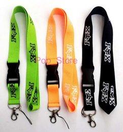 Venta al por mayor de Fox Israel marca de moda Lanyard ID Badge Key Holder cadena iPod cámara correa para el cuello desmontable, hay tres colores para elegir