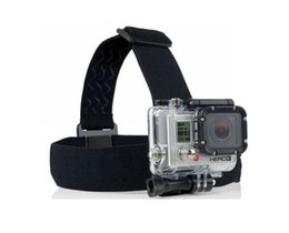 $enCountryForm.capitalKeyWord Canada - Wholesale-new Action Cam Accessories Adjustable Head Strap Mount Belt Elastic Headband Best Accessories For Sport Camera DHL Free Shipping