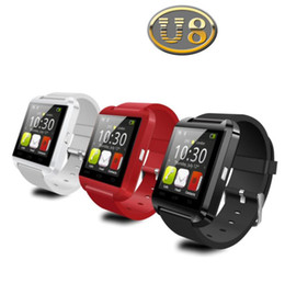 China Bluetooth Smart Watch U8 Watch Wrist Smartwatch for iPhone 4 4S 5 5S 6 6 plus Samsung S4 S5 Note 2 Note 3 HTC Android Phone Smartphones 2015 suppliers