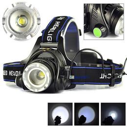 Cree head hunting lights online shopping - 3000LM Cree XML L2 XM L T6 Led Headlamp Zoomable Headlight Waterproof Head Torch flashlight Head lamp Fishing Hunting Light