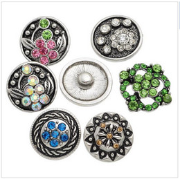 $enCountryForm.capitalKeyWord Canada - 15% off on sale Noosa Snap Buttons Fit Snap Bracelet Colorful Rhinestone Mixed 21mm details about drop shipping 90PCs