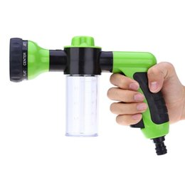 portable car washes Canada - Wholesale-New Multifunct Auto Car Foam Water Gun Car Washer Portable Durable High Pressure Home Garden Car Washing Water Gun Nozzle Spray
