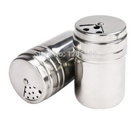 Chinese  200pcs llot Seasoning bottle stainless steel rotary multifunctional condiment bottles manufacturers