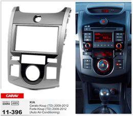 Discount kia forte stereo - CARAV 11-396 Top Quality Radio Fascia for KIA Cerato Koup (TD), Forte Koup (TD) Stereo Fascia Dash CD Trim Installation