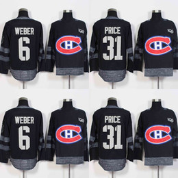 carey price jerseys red cheap Canada - 2017 Centennial Classic 100 Anniversary Patch 6 Shea Weber 31 Carey Price Montreal Canadiens Hockey Jerseys Cheap