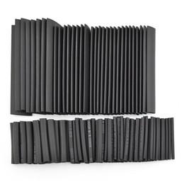 venda por atacado 127 pcs 7 Tamanhos Poliolefinas Halogênio-Free Heat Shrink Tubing Tubo Sleeving Kit