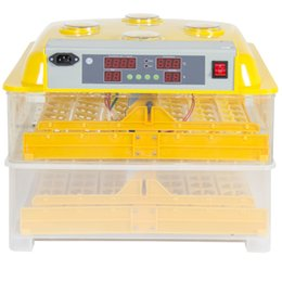 Wholesale 96 Digital Clear Egg Incubator Hatcher Controllo automatico della temperatura di tornitura dell'uovo