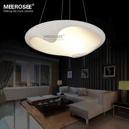 Fitting Rooms Canada - LED Pendant Light Fixture LED Lustre Light Fitting Shell Suspension Lamp Modern Lighting for dining room bedroom