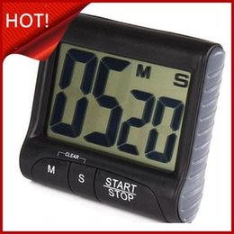 Stand alarm clock online shopping - New Fashion Stand Magnet Kitchen Timer Practical Cooking Timer Countdown Count Alarm Clock Kitchen Gadgets Cooking Tools Top Quality