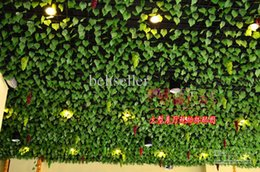 $enCountryForm.capitalKeyWord NZ - Beautiful High Simulation of Artificial Green Climbing Vines of Grape Leaves for Home Wall Decor Party Decoration Free Shipping