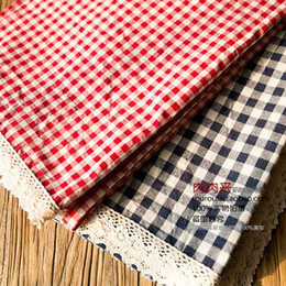 14C Birthday Party Party Marriage Room Plaid Tablecloths Japanese Forest  Department Lace Tablecloths Red Plaid Blue Grid Grid