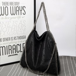 Luxury Chains NZ - New Arrival Chain Deigner women handbags PU shoulder bucket bags Folded up Crossbody Bags Luxury female bags