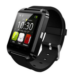Chinese  Bluetooth smart watch U8 Wrist Watch U smartWatch for For iPhone 4 4S 5 5S 6 and Samsung S4 Note s6 HTC Android Phone Smartwatch manufacturers