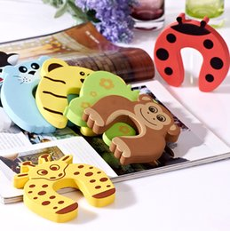 Baby Gates Canada - New 5x Baby Safety Finger Pinch Guard Door Stopper Baby safety products gate card Animal model