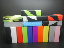 Smok x box online shopping - 10pc Silicone Case Silicon Cases Rubber Sleeve Protective Cover Skin For Smoktech X Cube W Smok Xcube Mini Watt TC Vape Box Mod