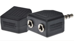 $enCountryForm.capitalKeyWord Australia - 3.5mm Male to 3.5mm 2*Female Y Splitter Plug Audio Coupler Connector 1 Male to 2 Female Extender Converter