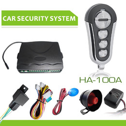 $enCountryForm.capitalKeyWord Canada - NEW Universal HA-100A 1-Way Car Alarm Vehicle System Protec tion Security System Keyless Entry Siren + 2 Remote Control Burglar