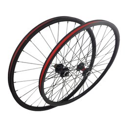 16 Rear Wheel Canada - Full Carbon Fiber Mtb Bike Wheelsets 26er 27.5er 29er Mountain Bicycle Wheels 16-32 holes Novatec Hub