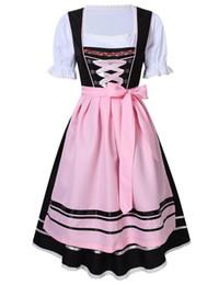 China New German Bavarian Oktoberfest Promotional Exhibition Dress Holiday Party Dresses Women's German Dirndl Dress 3 Piece Oktoberfest Costumes suppliers