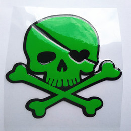 color changing plastic sheet 2019 - Whole sale Fuel tank cap waterproof skull car sticker