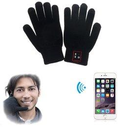 Hallo Anruf Bluetooth Handschuhe Gespräch Handschuhe Touch Screen Handschuhe für Handys Moblie Telefone Hands-Free-Touch-Funktion